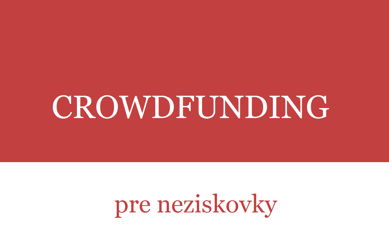 Fundrising pre neziskovky